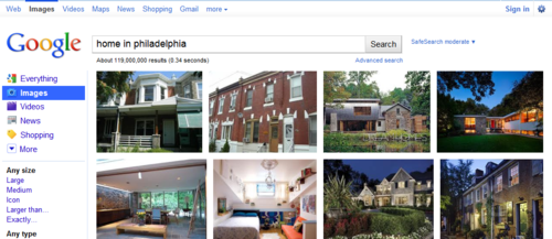 home in philadelphia - Google Image Search  Click the pic to run the search... image from psychout.typepad.com