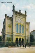 Zagreb Synagogue  Click the pic to see more... image from upload.wikimedia.org