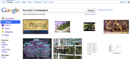 fecundity in philadelphia - Google Image Search  Click the pic to run the search... image from psychout.typepad.com
