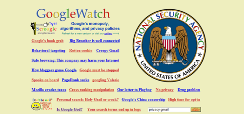 Google Watch  Click the pic to see more... image from psychout.typepad.com