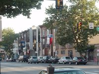 The intersection of Broad and Ritner Streets, taken just before dusk in June 2008 - Click the pic to read more about Central South Philadelphia, Philadelphia, Pennsylvania... image from upload.wikimedia.org