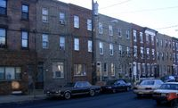 Rowhouses in South Philadelphia - Click the pic to read more about Philadelphia neighborhoods... image from upload.wikimedia.org