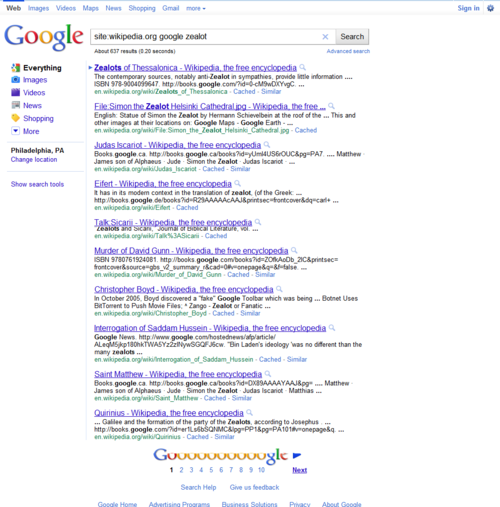 google zealot - Google Search  Click the pic to run the search... image from psychout.typepad.com