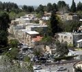 Deir Yassin today, part of the Kfar Shaul Mental Health Center, an Israeli psychiatric hospital.  Click the pic to see more... image from upload.wikimedia.org