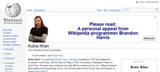 Kubla khan wiki 1