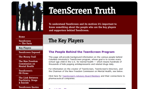 TeenScreen Truth - Click the pic to read more... image from psychout.typepad.com