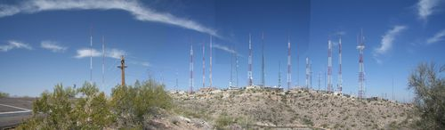 South Mountain Arizona radio and television towers - Click the pic to read more... image from upload.wikimedia.org